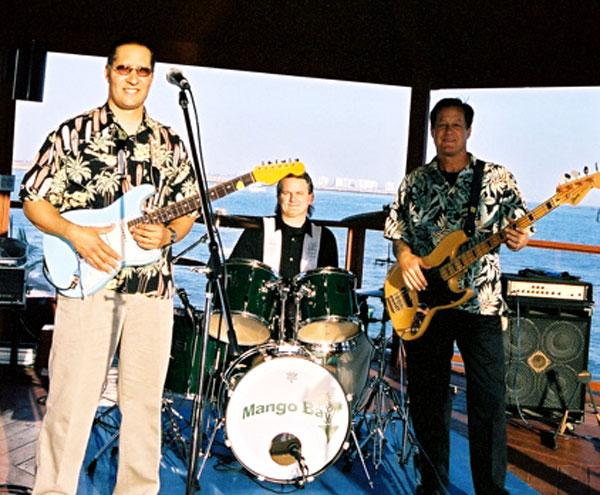 photo of clif's band, Mango Bay