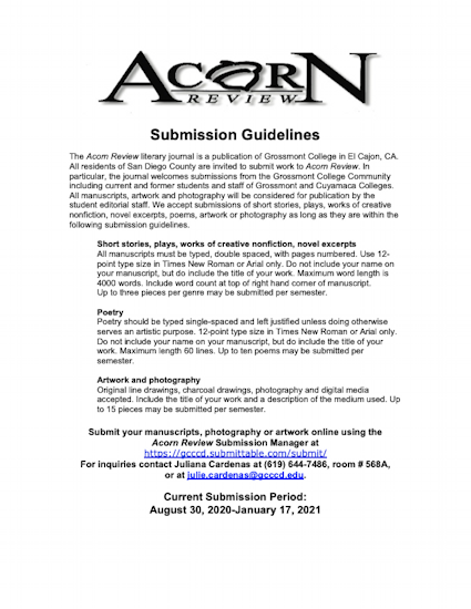 Acorn Review Submission Guide PDF