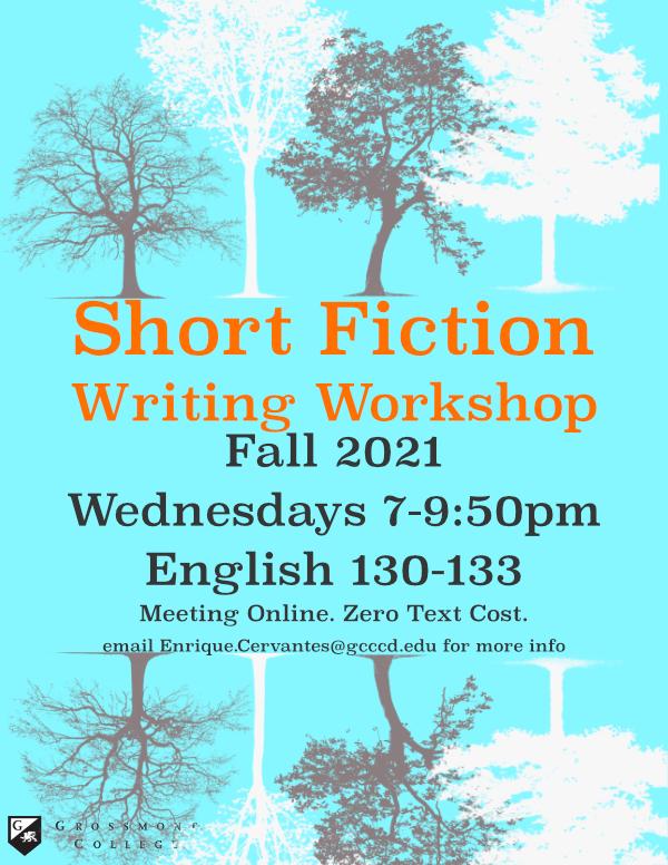 Fall 2021 Short Fiction Workshop