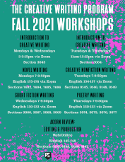 Fa 21 All Creative Writing Workshops