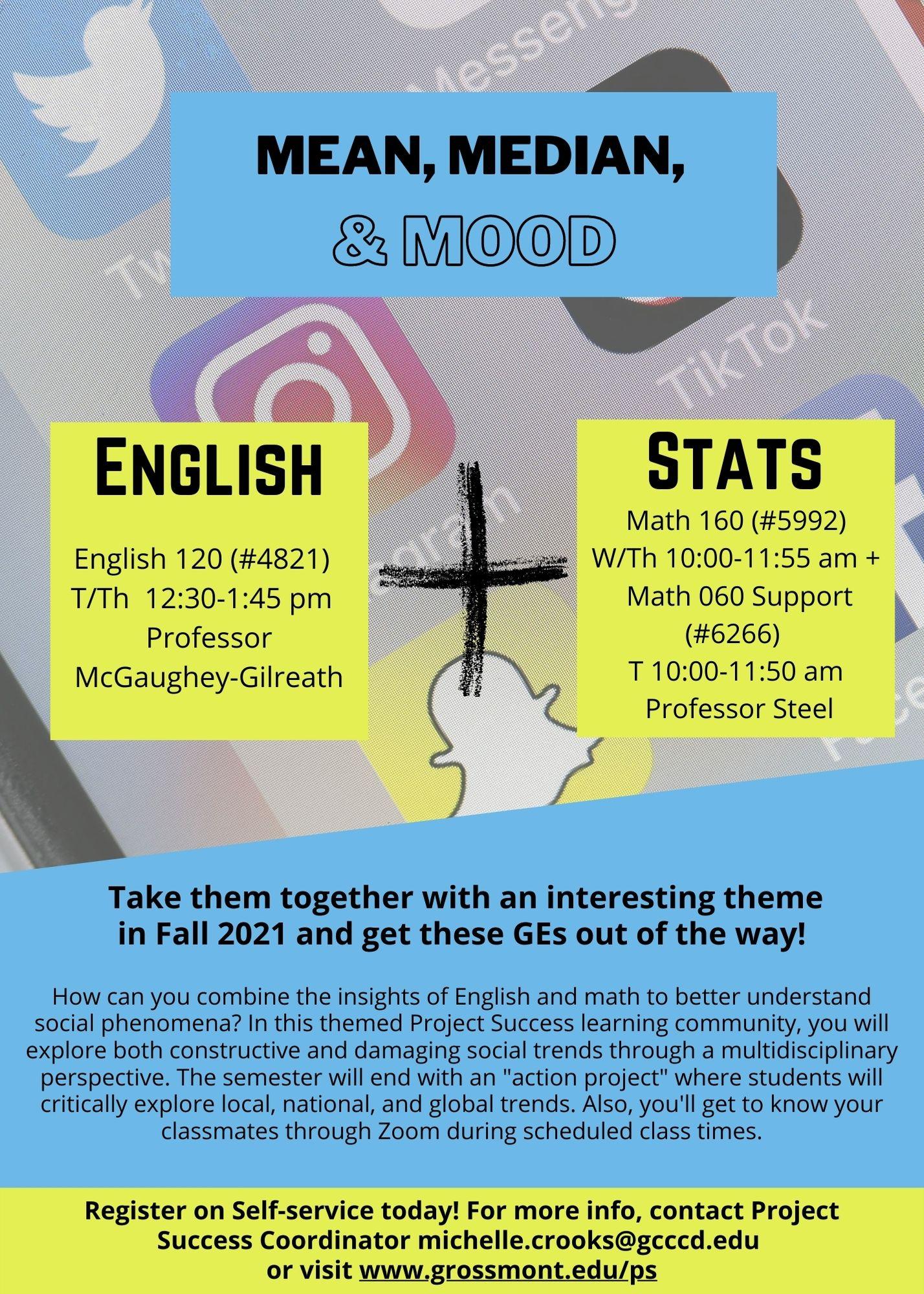 Fall 2021 Math English poster