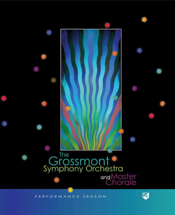 Grossmont Symphony and Master Chorale Graphic for program cover