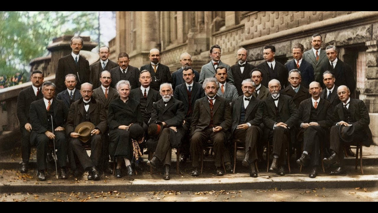 Solvay Conference Photo Of Famous Scientists of the 20th Century