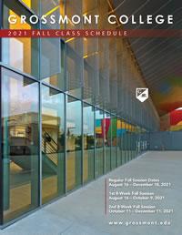2021 Fall Class Schedule