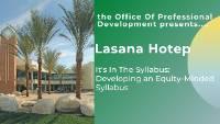April 13 Lasana Hotep Webinar Image