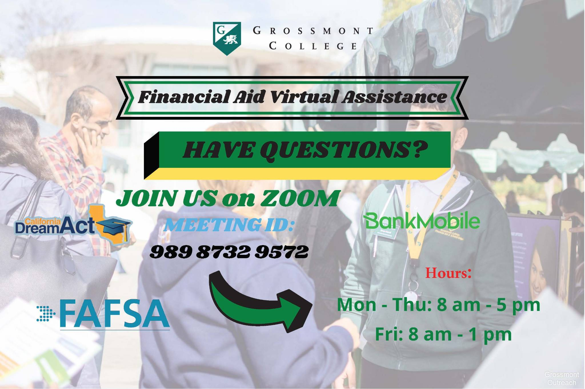 Financial Aid Virtual Assistance
