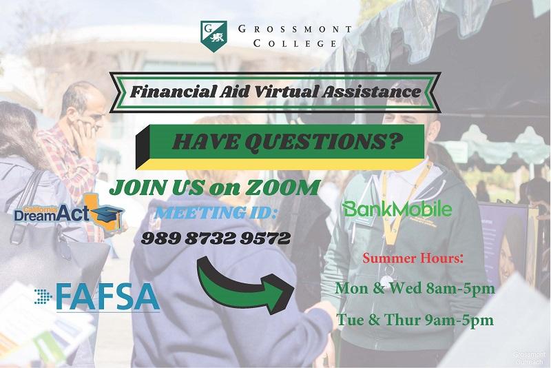 Financial Aid Virtual Helpdesk