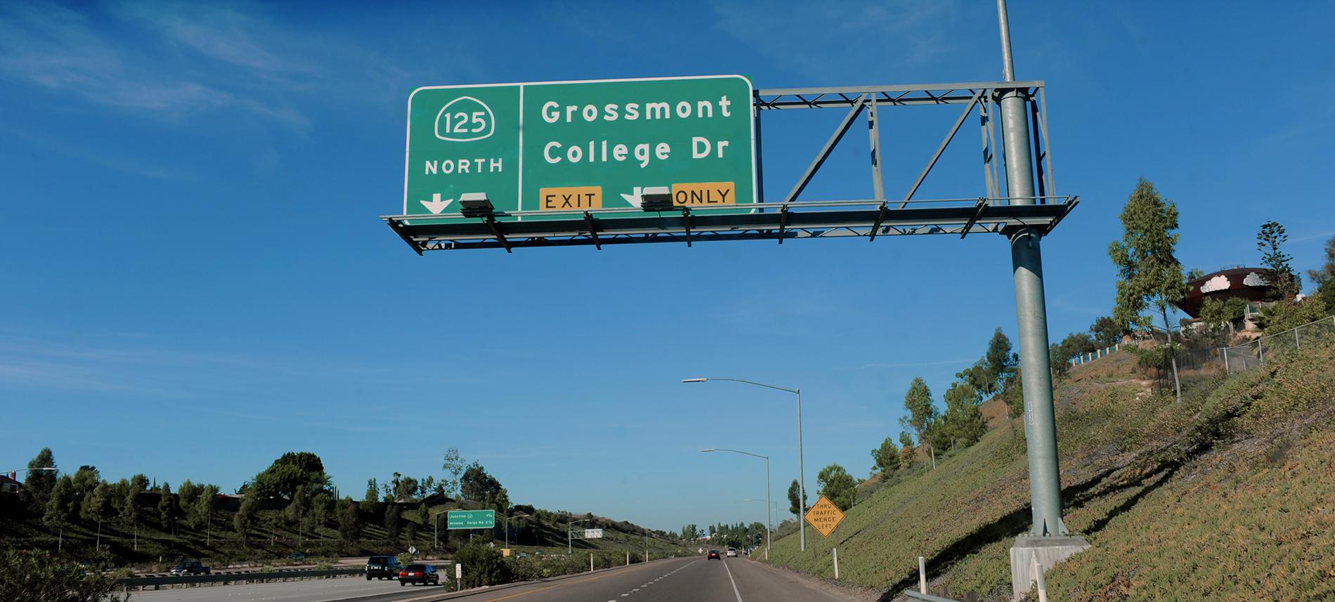 grossmont college sign