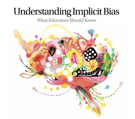 Implicit Bias - What educators should know